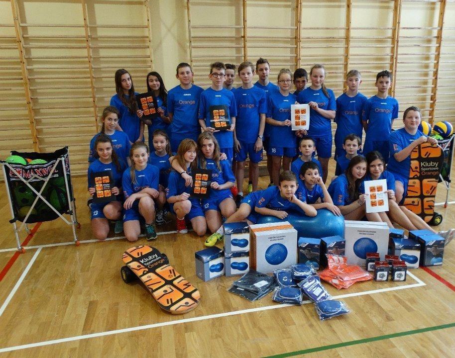 SKS Wisełka na Regionalnych Rozgrywkach Klubów Sportowych Orange wGdańsku